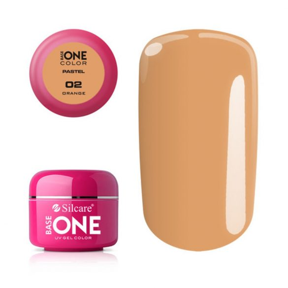 Silcare Base One Pastel, Orange 02#