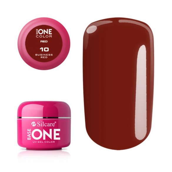Silcare Base One Red, Bussines Red 10#