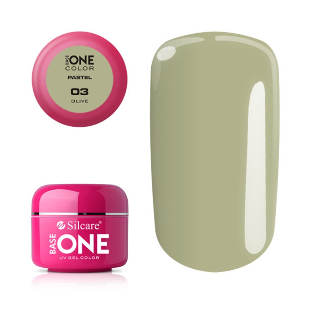 Silcare Base One Pastel, Olive 03#